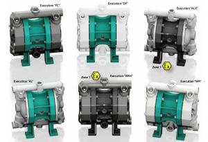 Argal AODD Pump Model DDA 50C