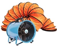 portable fan, พัดลมถังกลม