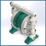 argal diaphragm pump pp polypropylene model dde 100